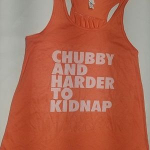Chubby and harder to kidnap 2XL Tank Top